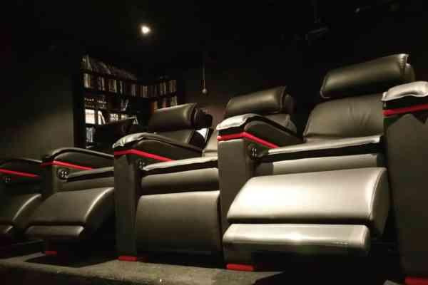 cinema privé fauteuils