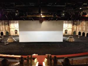 Puy Du Fou Large Motorized Nolimit Screen