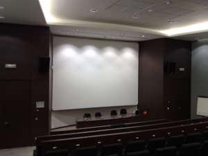 frame aluminium screen wrap around cinema screen cinevision multivision