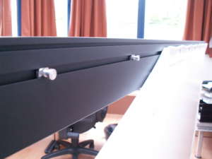 aluminium frame screen fixvision theater multivision