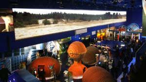 Grand écran motorisé Nolimit de 42m de large