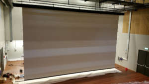 Multivision Large Roll Up Motorized Electric Projection Screen