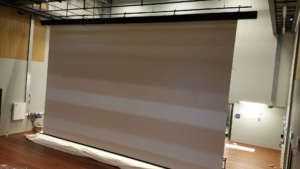 Multivision Nolimit Motorized Screen Tab Tensionned
