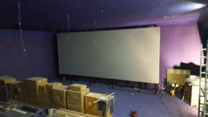 Installation Multivision Cinema Silver Clarus Screens
