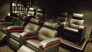 cinema privé sièges