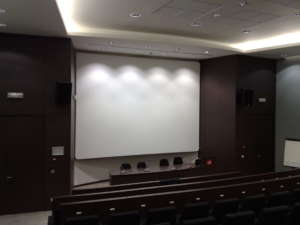 frame aluminium screen wrap around cinema screen cinevision multivision