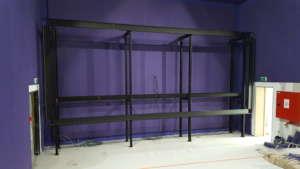écran de cinéma tendu sur cadre aluminium cinevision multivision